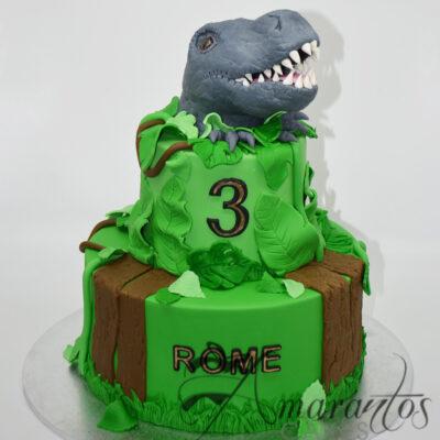 Two tier Dinosaur cake NC54