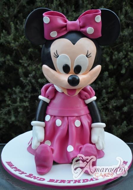 3D Minnie - Amarantos Designer Cakes Melbourne