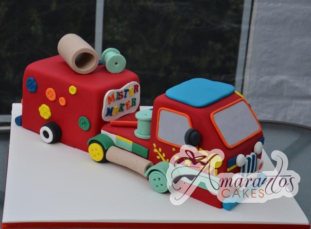3D Mister Maker Truck Cake - Amarantos Designer Cakes Melbourne