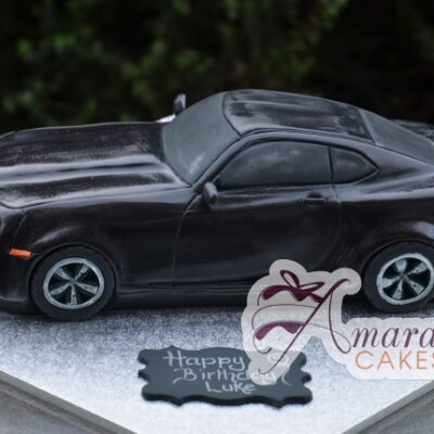 3D Camaro Car Cake - Amarantos Custom Made Cakes Melbourne