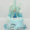 Frozen Elsa Cake - Amarantos Cakes