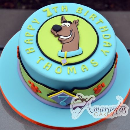 Scooby Doo Cake – NC588