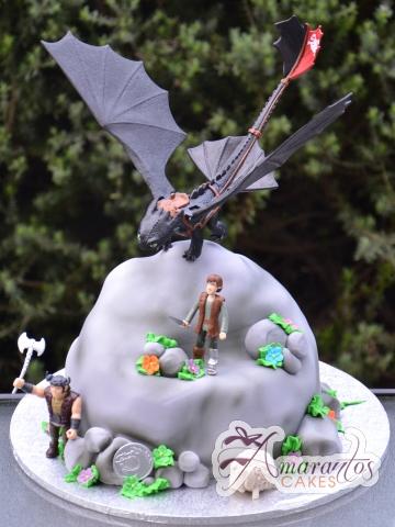 How to rain your dragon cake - Amarantos Designer Cakes Melbourne