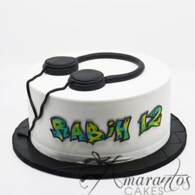 Headphone Cake - NC58