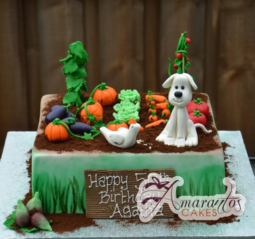 Vegetable Garden Cake - Amarantos Designer Cakes Melbourne