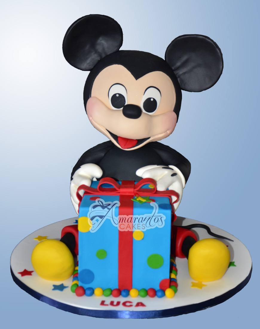 3D Mickey & Present - NC602