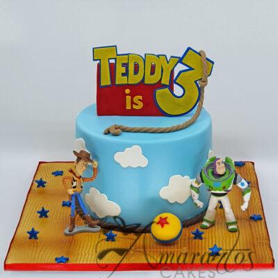 Toy Story Cake - Amarantos Cakes