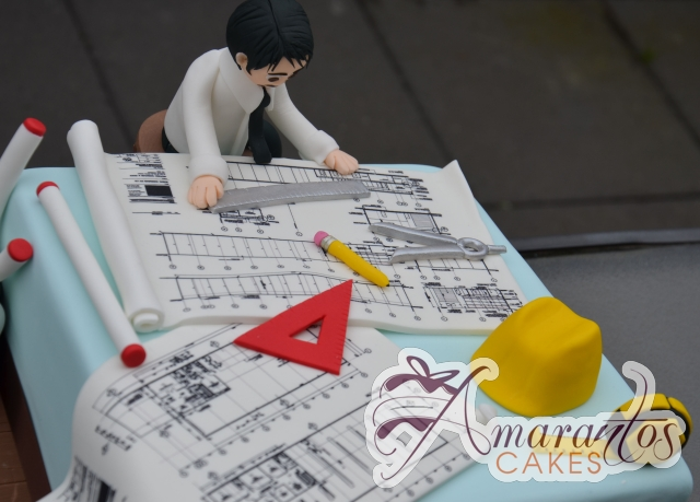 Architects Cake - Amarantos Custom Made Cakes Melbourne