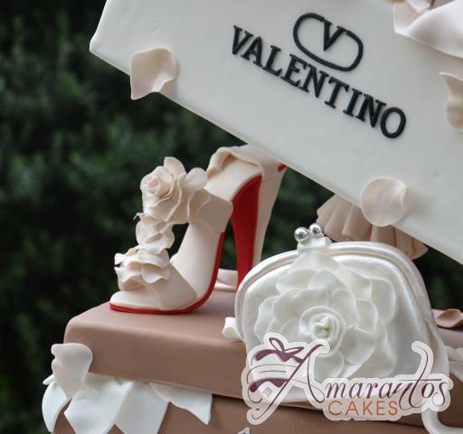 Designer Shoe Box and Show Cake - Amarantos Designer Cakes Melbourne
