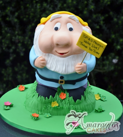 3D Garden Gnome Cake - NC627 - Celebration Cakes Melbourne