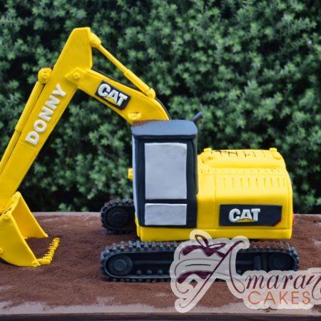 3D Excavator Cake – NC630