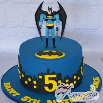 Batman Cake - Amarantos Designer Cakes Melbourne