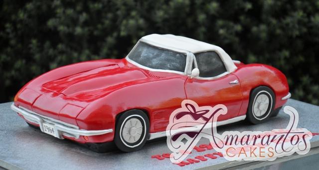 3D Corvette Cake - Amarantos Designer Cakes Melbourne