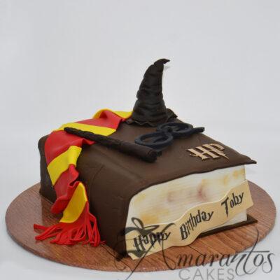 Harry Potter Book Cake - NC63