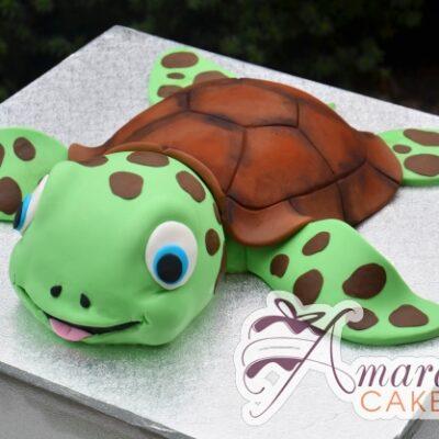 3D Sea Turtle Cake - Amarantos Designer Cakes Melbourne