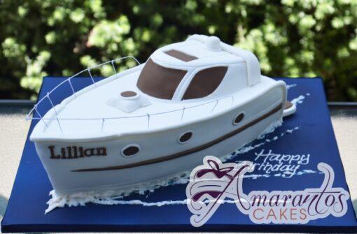 Speed Boat 3D - Amarantos Designer Cakes Melbourne