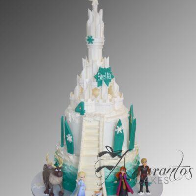 Frozen Elsa Castle Cake - NC667 - Amarantos Cakes