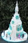 Two tier Frozen Castle Cake – NC667