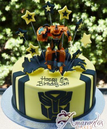Transformers Cake – NC668