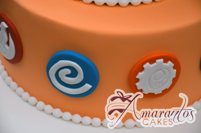 Two Tier Skylander Cake - Amarantos Custom Made Cakes Melbourne