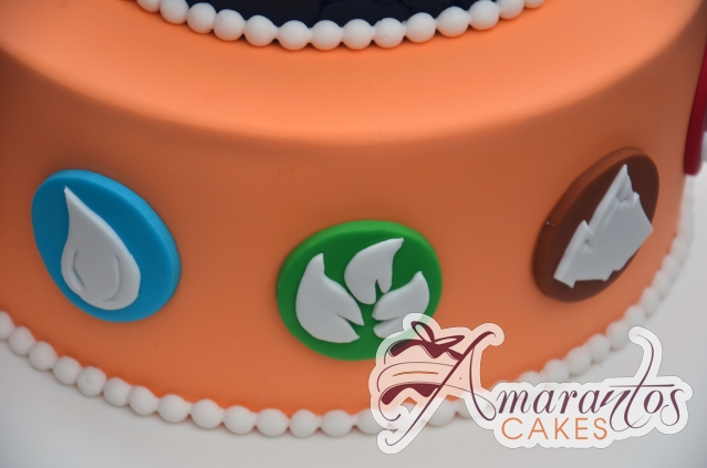 Two Tier Skylander Cake - Amarantos Designer Cakes Melbourne