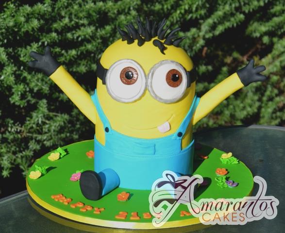 3D Minion - NC684 - Celebration Amarantos Cakes Melbourne