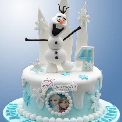 Olaf Cake Topper Cake - NC707