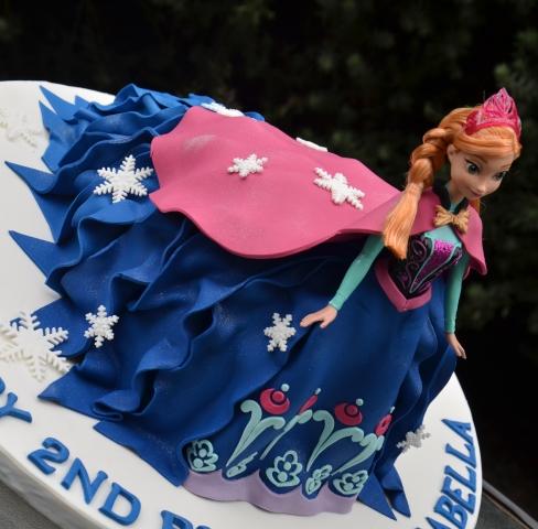 Anna Doll Cake - Amarantos Designer Cakes Melbourne