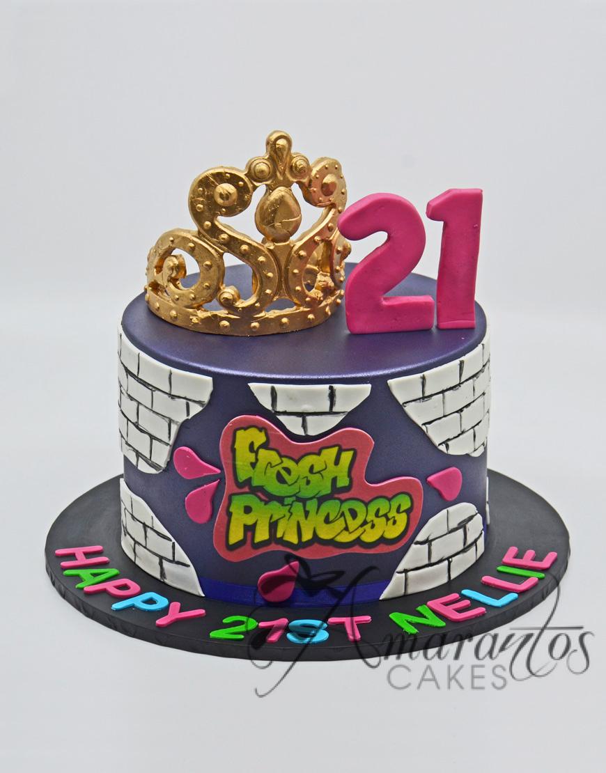Fresh Prince of Bel Air Cake - NC71