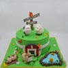 NC720 Farm Animals Cake - Amarantos Melbourne Cakes