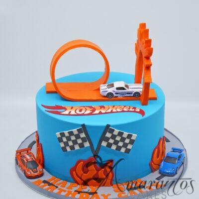 Hot Wheels Themed cake Amarantos Cakes Melbourne