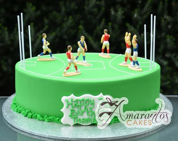 AFL Football Birthday Cake - Amarantos Melbourne Cakes