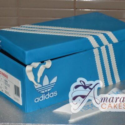 3D Adidas Shoe Box Cake - Amarantos Designer Cakes Melbourne