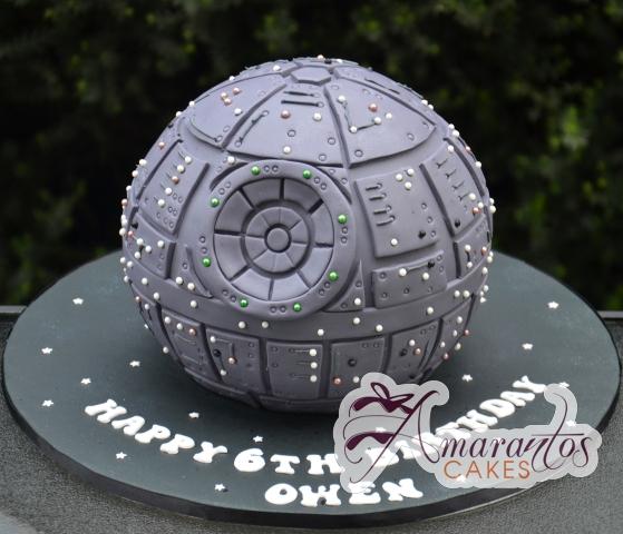 Death Star Star Wars - Amarantos Cakes Melbourne