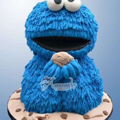 3D Cookie Monster - NC783