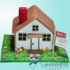 NC79 3D House cake
