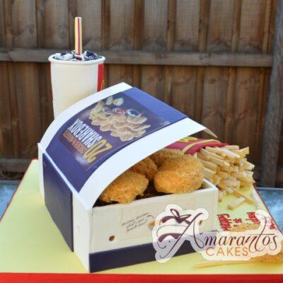 McNuggets Meal Cake - Amarantos Designer Cakes Melbourne