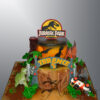 NC806 Jurassic Park Cake