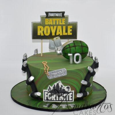 Fortnite Battle Royale Cake NC80 Amarantos Cakes