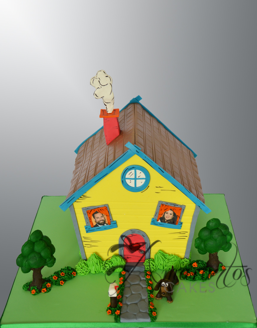 NC814 Dr Suess House Cake