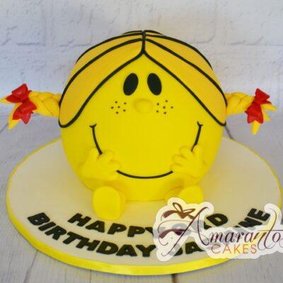3D Little Miss Cake - Amarantos Designer Cakes Melbourne