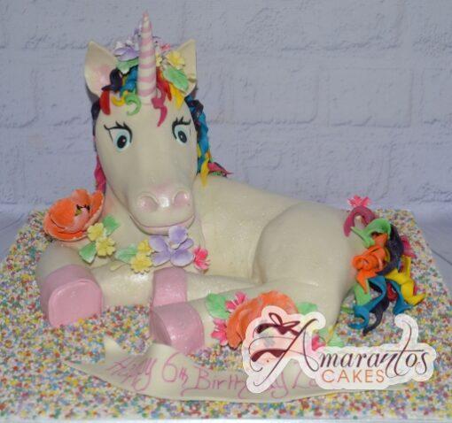 Unicorn Cake - Amarantos Birthday Cakes Melbourne