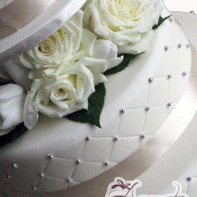 Three Tier Cake - Amarantos Designer Cakes Melbourne