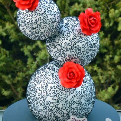Three Balls - - Amarantos Designer Cakes Melbourne