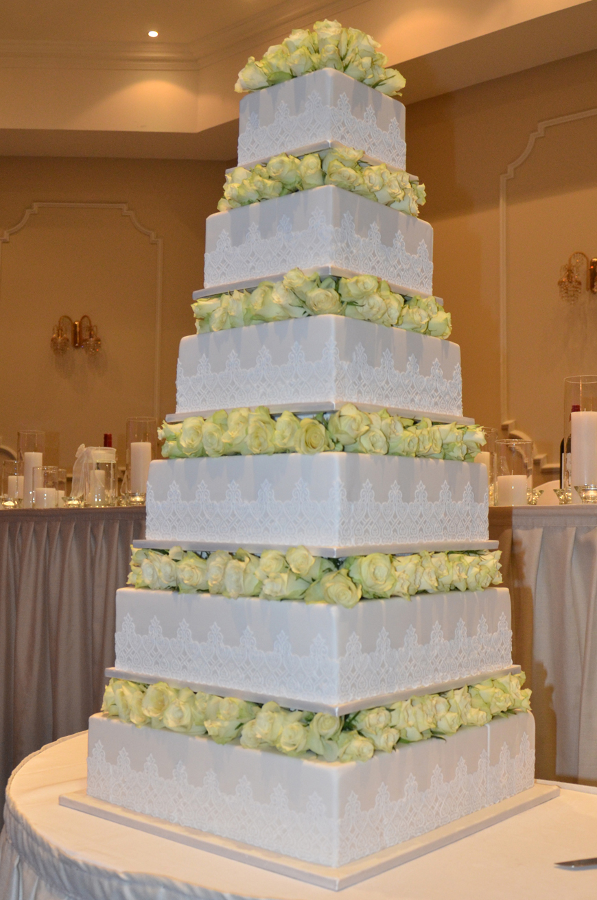Six tier Wedding Cake WC272