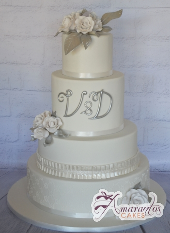 Five tier Wedding Cakes WC292