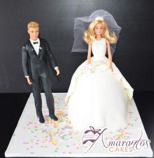 Barbie & Ken Wedding Cake WC31