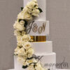 Wedding Cakes Melbourne - Six tier