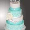 Four tier Wedding Cake WC45