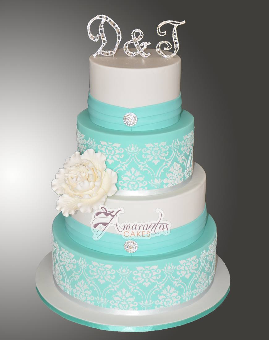 Four tier Wedding Cake WC45